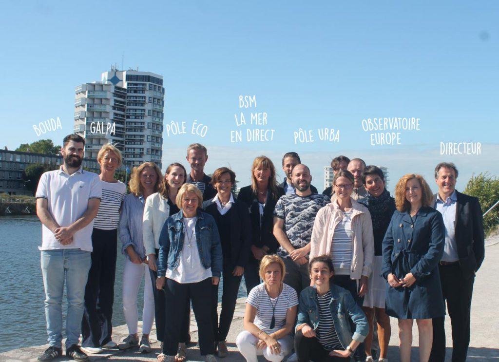 photo de groupe Boulogne Développement Côte d'Opale
